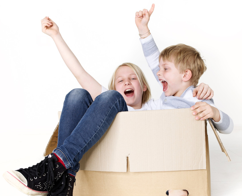traslocare con bambini