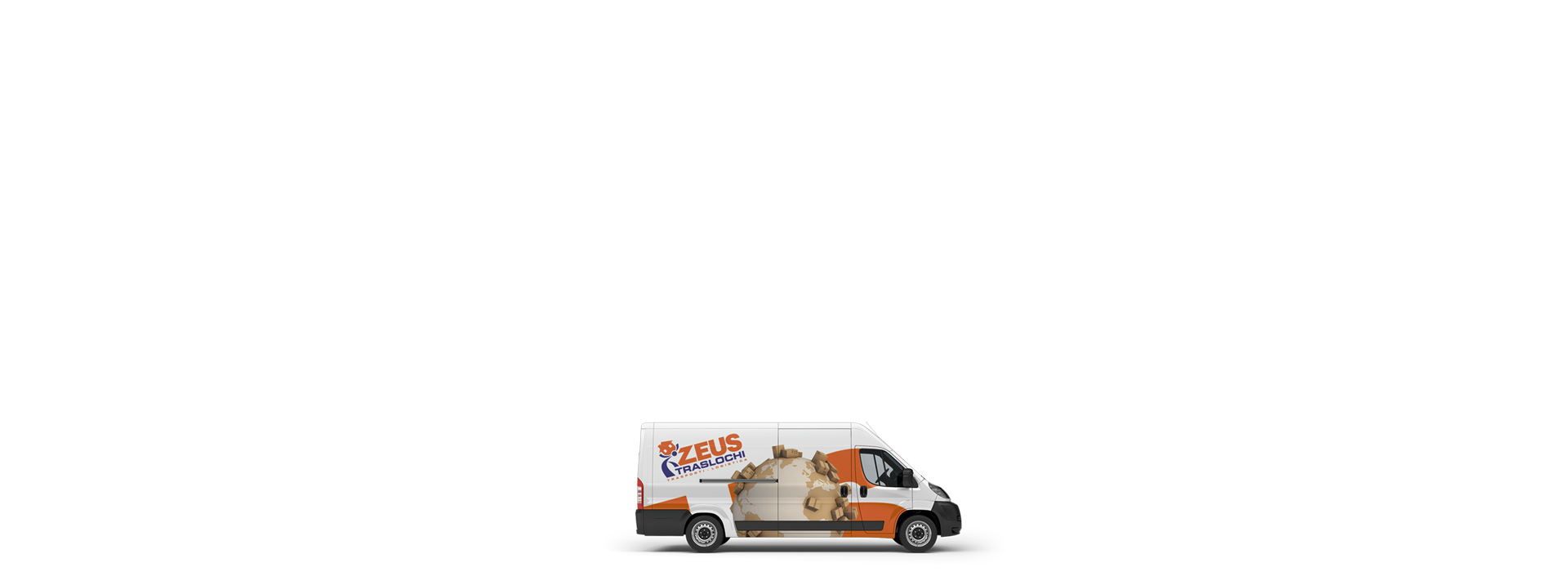 mezzi furgonati Zeus Traslochi